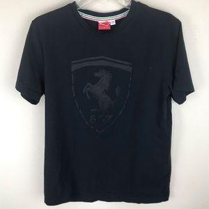 PUMA FERRARI Big shield t-shirt size medium
